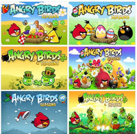 """6 """"Angry Birds"""" Magnets Collection"""