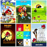 """6 """"Angry Birds"""" Magnets Collection №2"""