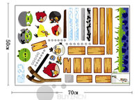 Angry Birds Wall Stickers