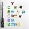Apple Icon Magnets