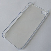 Clear Transparent Cover for iPhone 4, 4S