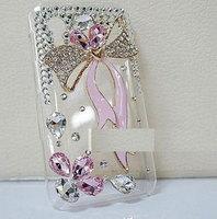 iPhone case crystal ribbon