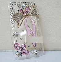 iPhone case crystal ribbon