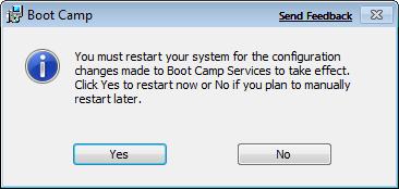 Установка Windows 7 на Mac OS X через Boot Camp